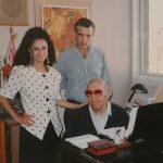 עם המלחין הנודע, חתן פרס ישראל, משה וילנסקי והזמרת שלווה ברטי